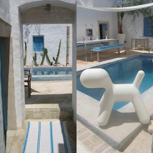 An urban village dar bibine tunisia for Architecture maison arabe